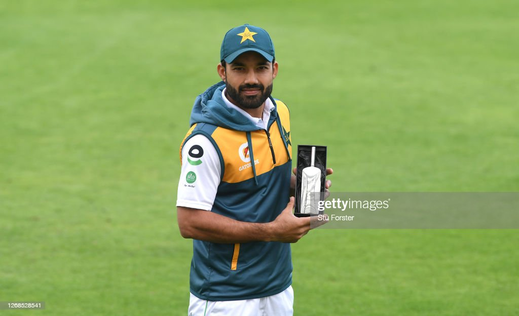 England v Pakistan: Day 5 - Third Test #RaiseTheBat Series : News Photo