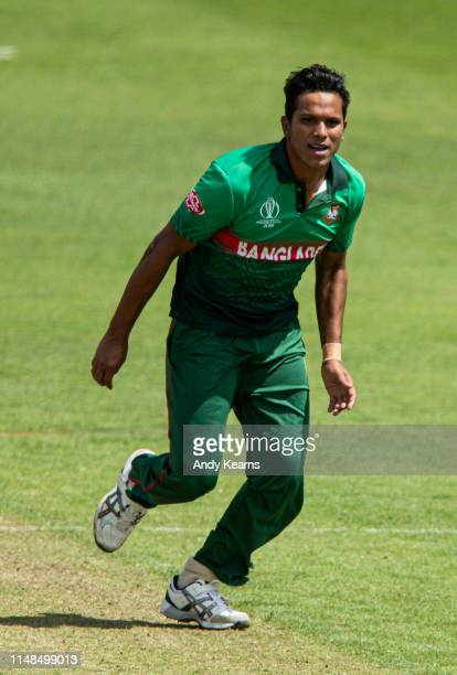 Mohammad Saifuddin of Bangladesh during the Group Stage match of the ICC Cricket World Cup 2019 between England and Bangladesh at Cardiff Wales...