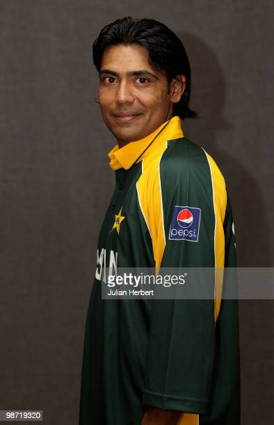 Mohammad Sami of The Pakistan Twenty20 squad poses for a portrait on April 26 2010 in Gros Islet Saint Lucia