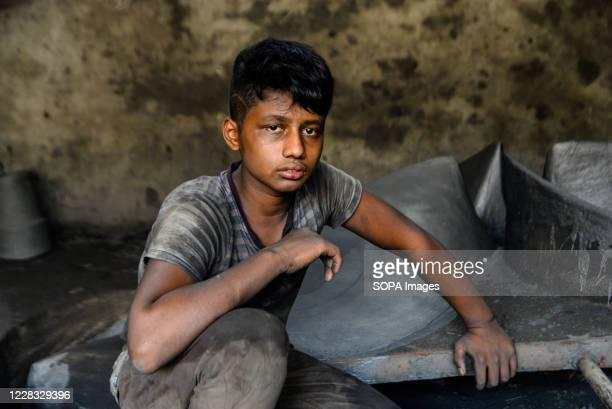 Mohammad Shawon, a 15 years old boy working at a Shipyard. The shipbuilding industry in Bangladesh is spreading rapidly where workers from all ages...
