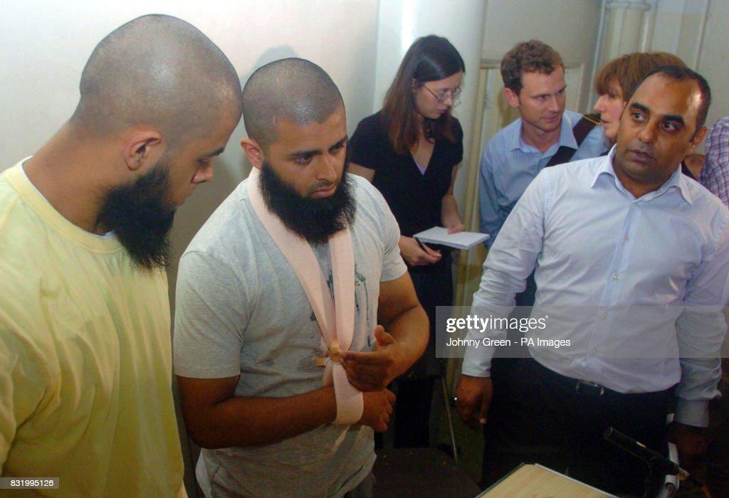 Mohammed Abdul Kahar 23 Centre And Abul Koyair Left