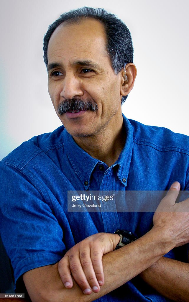 DENVER, COLO. - MAY 13, 2005 - Mohammed Akacem<cq>, professor of economics at the Metropolitan State College of Denver, Friday, 5/13/2005. (Jerry Cleveland   The Denver Post) : News Photo