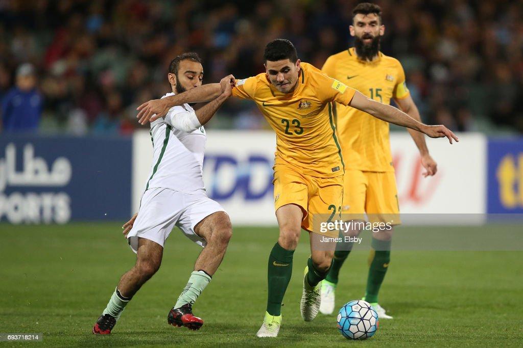 Australia v Saudi Arabia - 2018 FIFA World Cup Qualifier : News Photo