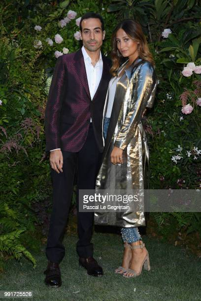 Mohammed Al Turki and Siran Manoukian attend the Valentino Haute Couture Fall Winter 2018/2019 show as part of Paris Fashion Week on July 4 2018 in...