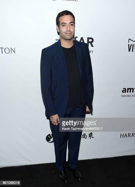 Mohammed Al Turki at amfAR Los Angeles 2017 at Ron Burkle's Green Acres Estate on October 13 2017 in Beverly Hills Californi