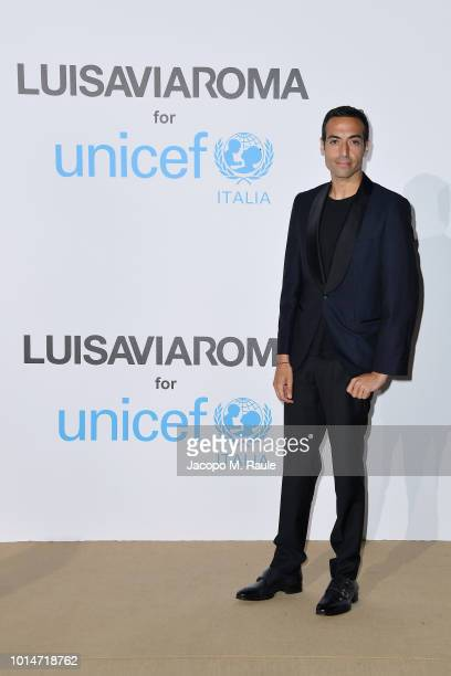 Mohammed Al Turki attends a photocall for the Unicef Summer Gala Presented by Luisaviaroma at Villa Violina on August 10 2018 in Porto Cervo Italy
