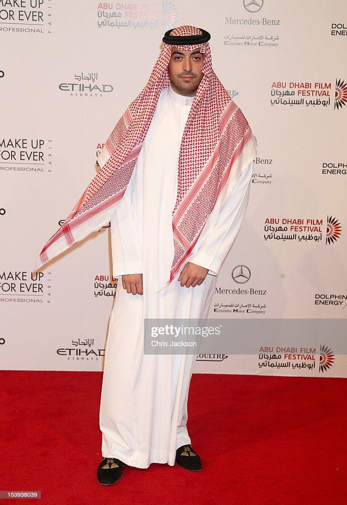 Mohammed Al Turki attends Abu Dhabi Film Festival 2012 at Emirates Palace on October 11, 2012 in Abu Dhabi, United Arab Emirates.
