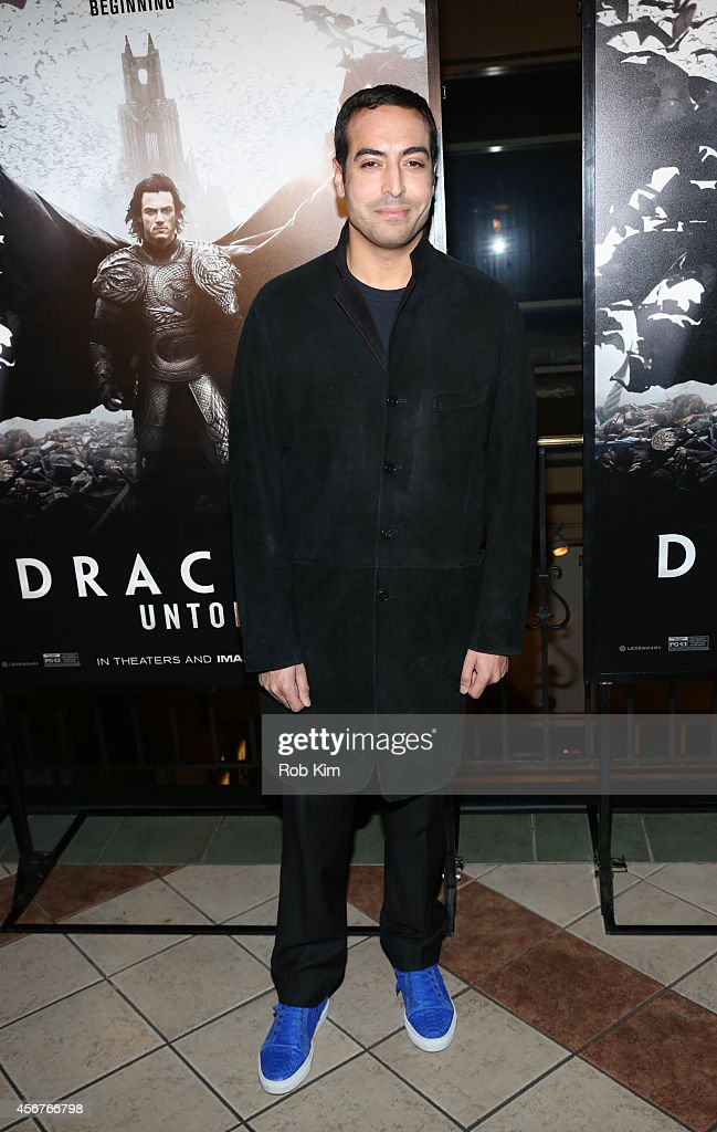 Mohammed Al Turki attends 'Dracula Untold' New York Premiere at AMC Loews 34th Street 14 theater on October 6, 2014 in New York City.