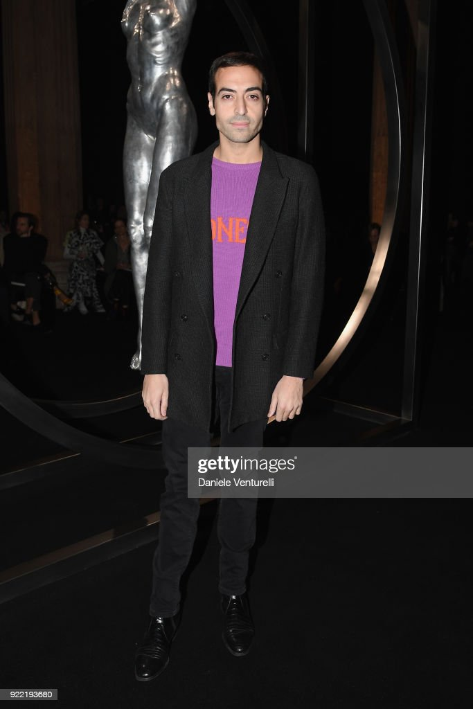 Mohammed Al Turki attends the Alberta Ferretti show during Milan Fashion Week Fall/Winter 2018/19 on February 21, 2018 in Milan, Italy.