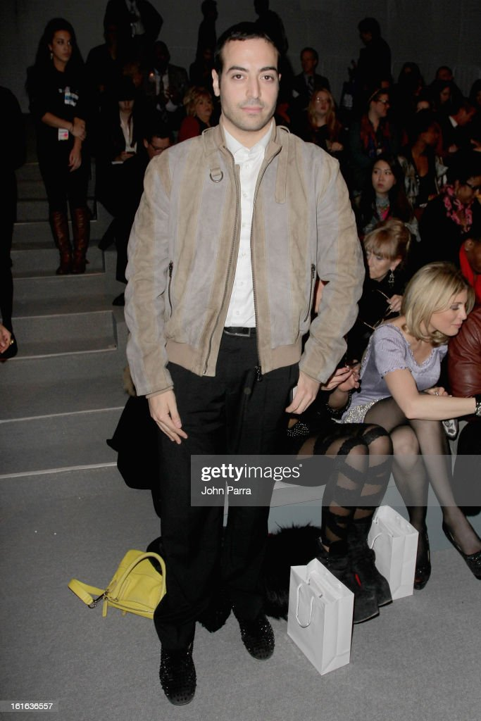 Mohammed Al Turki attends the Zang Toi Fall 2013 fashion show during Mercedes-Benz Fashion Week at The Stage at Lincoln Center on February 13, 2013 in New York City.