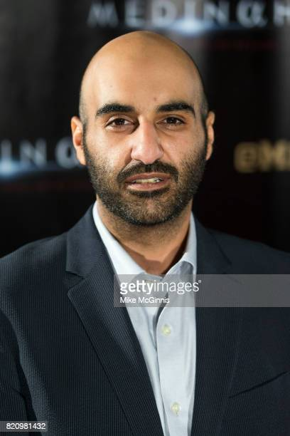 Mohammed Alhamdi attends the International SciFi Series 'Medinah' premiere and red carpet reception at ComicCon International 2017 at The Manchester...