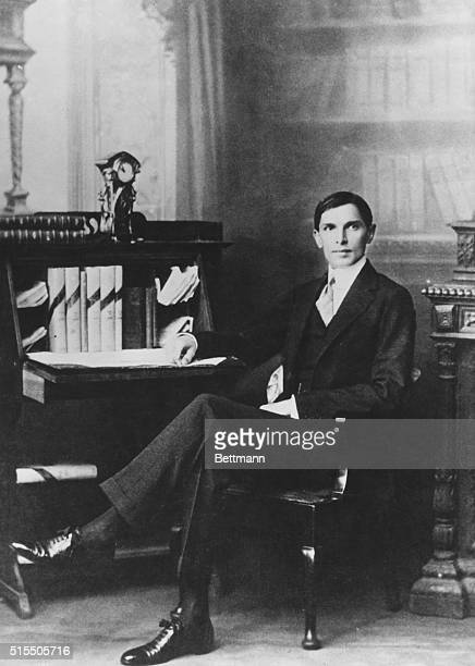Mohammed Ali Jinnah as a young law student in London He left India when he was 16 was called to the bar at Lincoln's Inn and spent several years in...