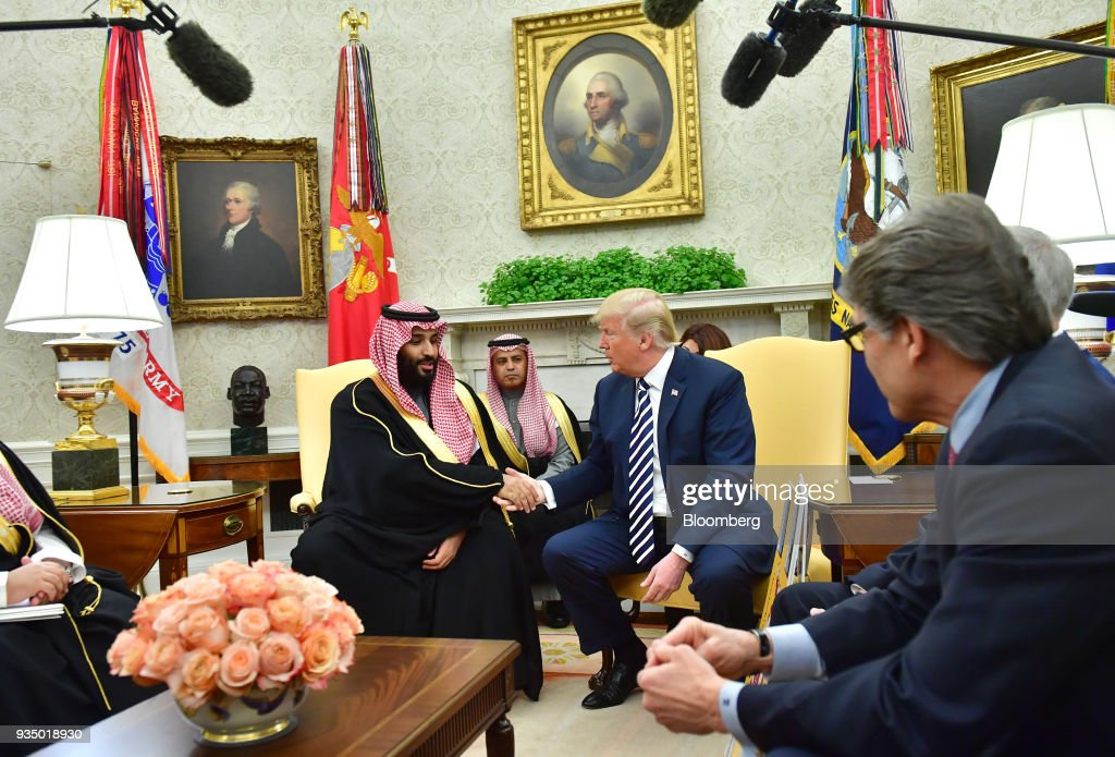 President Trump Hosts Crown Prince Mohammed Bin Salman Of Saudi Arabia At The White House