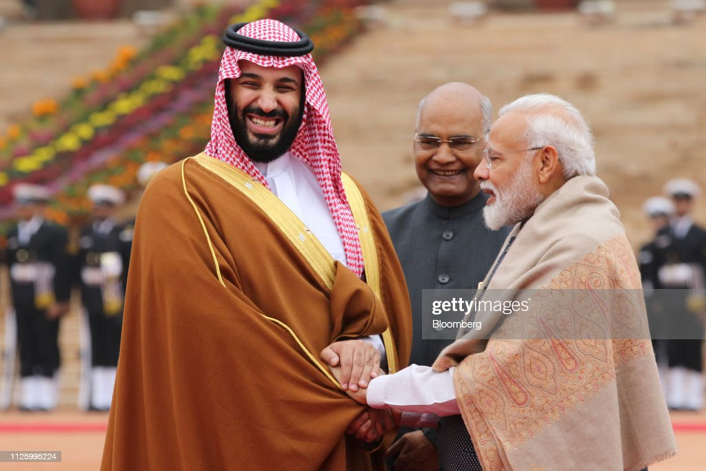 IND: Saudi Arabia's Crown Prince Pledges to Fight Terror With India