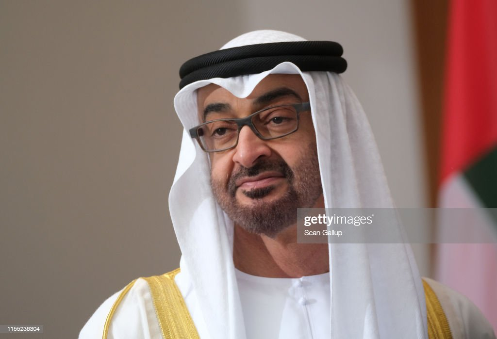Crown Prince Of Abu Dhabi Visits Berlin : News Photo