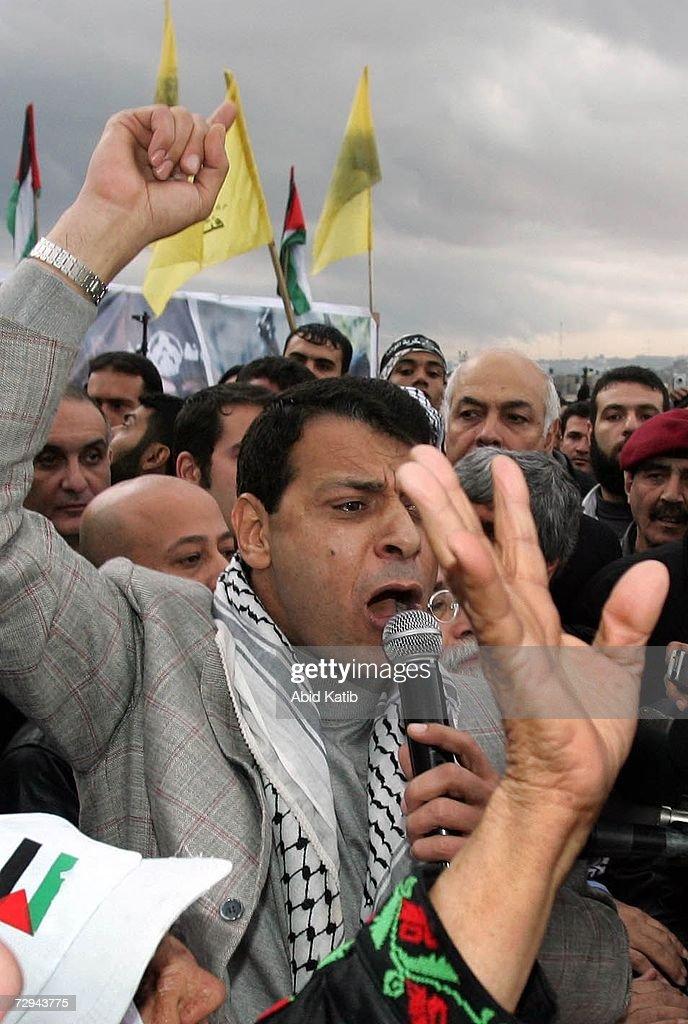 Fatah Marks 42nd Anniversary : News Photo
