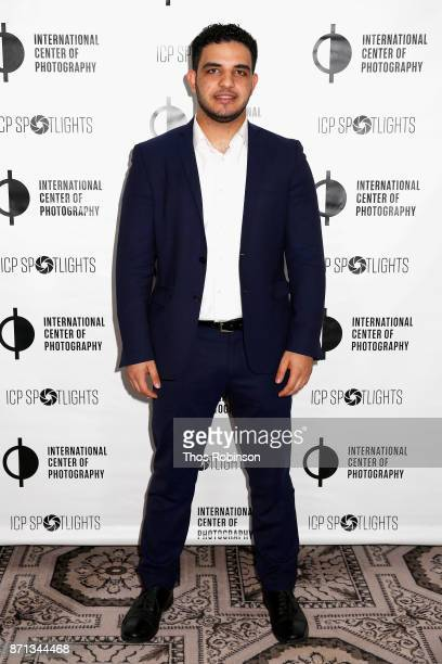 Mohammed Elshamy attends The 2017 ICP spotlights luncheon honoring Pulitzer PrizeWinning photojournalist Lynsey Addario on November 7 2017 in New...