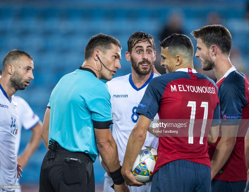 Norway v Cyprus - UEFA Nations League C : News Photo