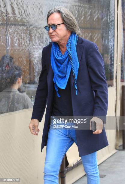Mohammed Hadid is seen on March 13 2018 in Los Angeles CA