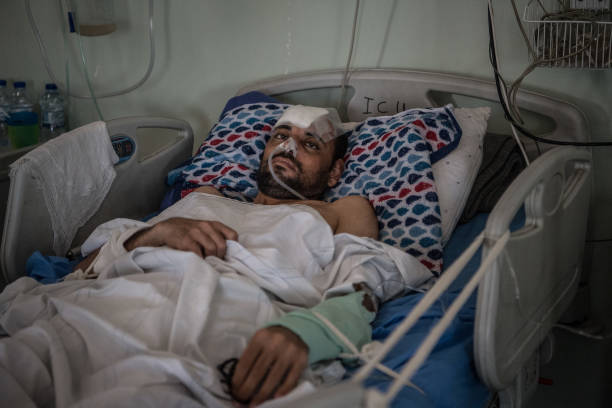 Victims of mosul offensive treated in erbil hospital for Emergency numbers around the world