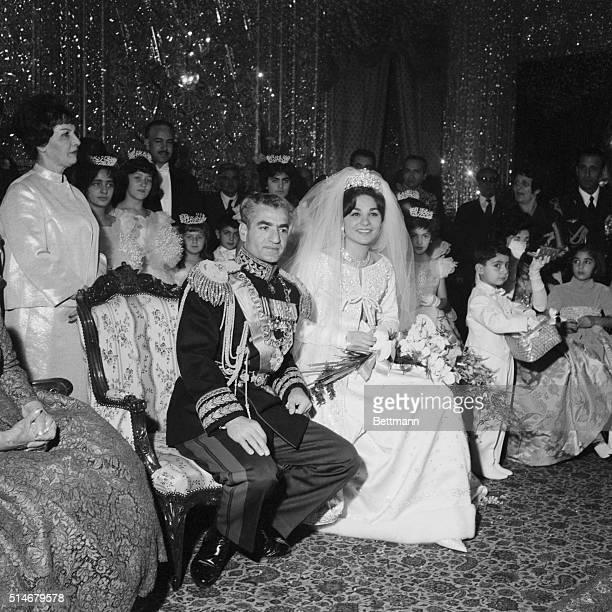 Mohammed Reza Pahlavi, the Shah of Iran, has just married his third wife Farah Diba.