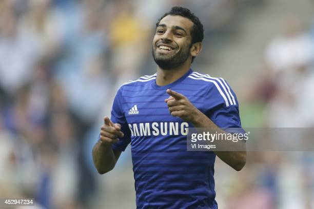 Mohammed Salah of Chelsea during the friendly match between Vitesse Arnhem and Chelsea at Gelredome on July 30 2014 in Arnhem The Netherlands