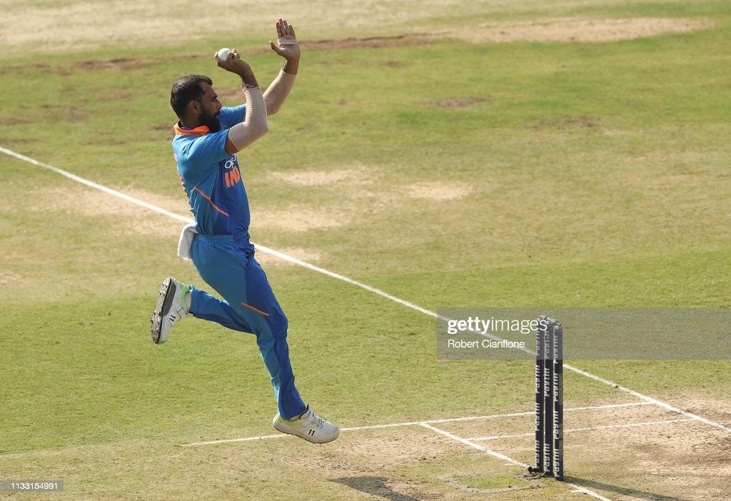 India v Australia - ODI Series: Game 1 : News Photo