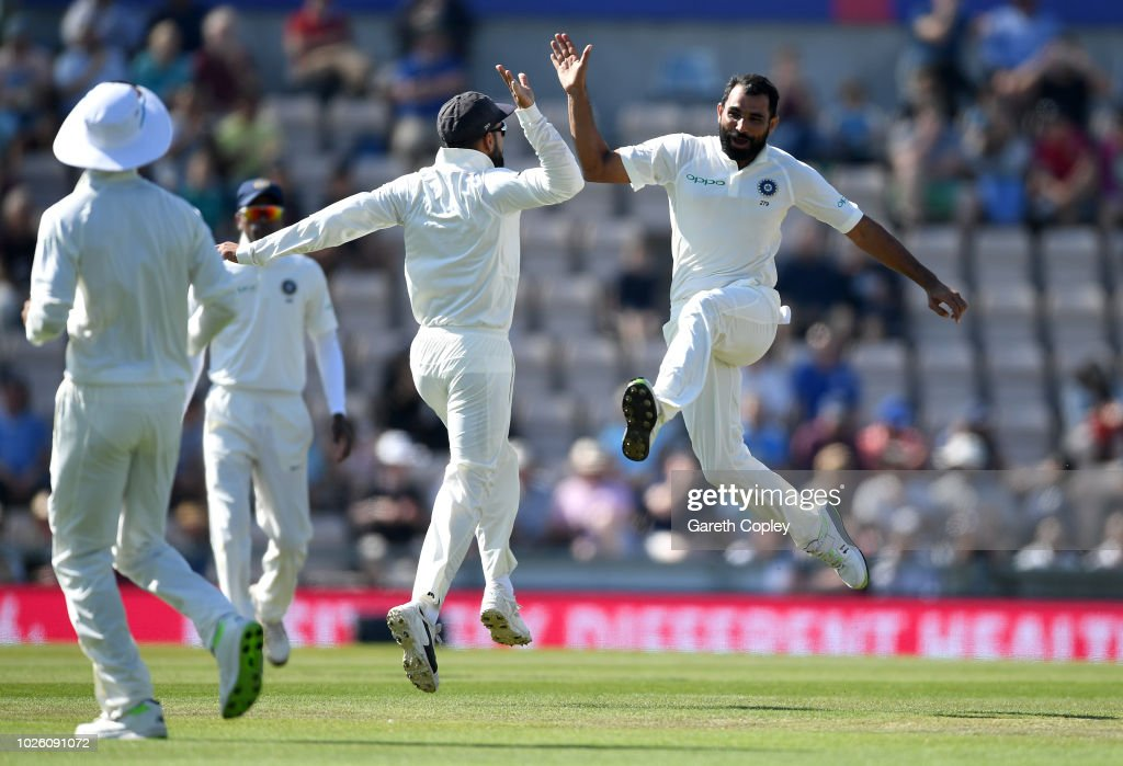 England v India: Specsavers 4th Test - Day Four : News Photo