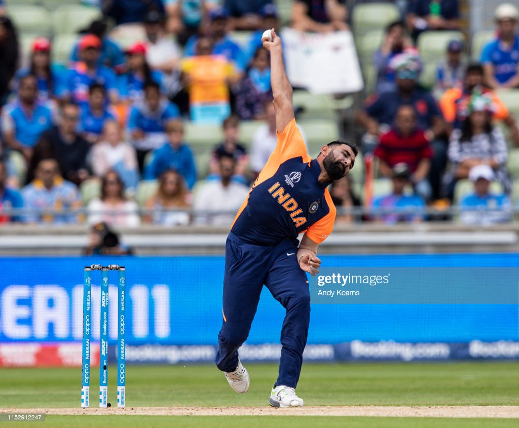 England v India - ICC Cricket World Cup 2019 : News Photo