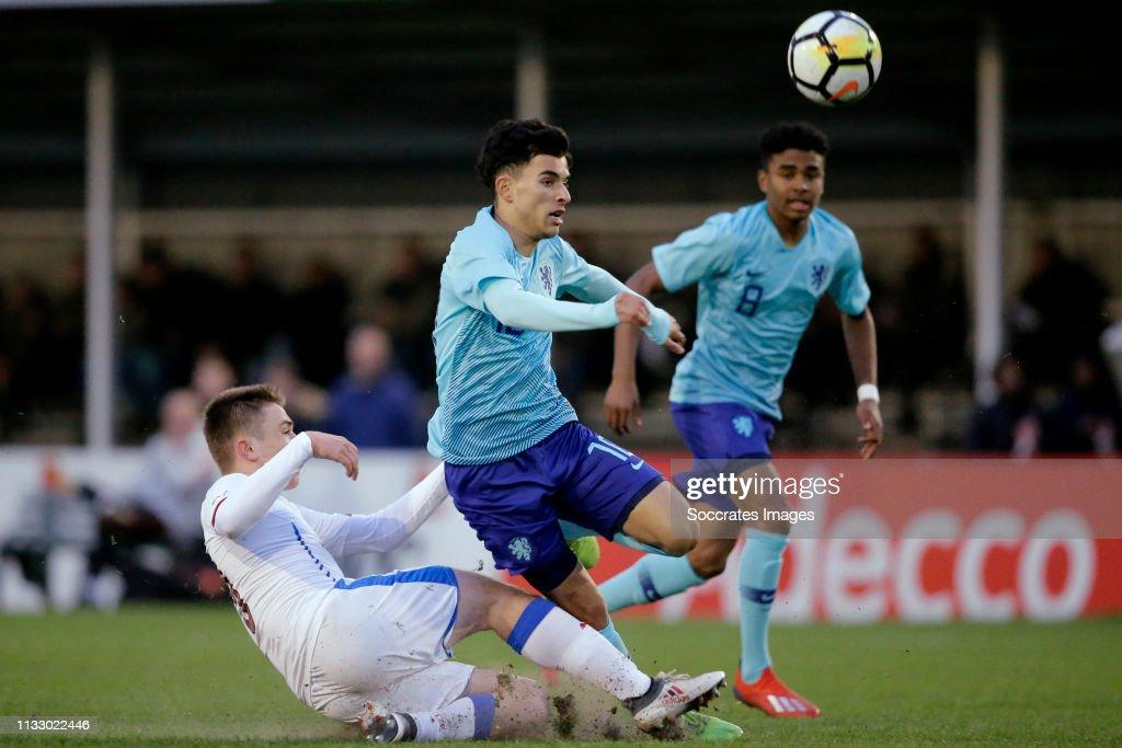 NLD: Czech Republic U17 v Netherlands U17 - International Friendly