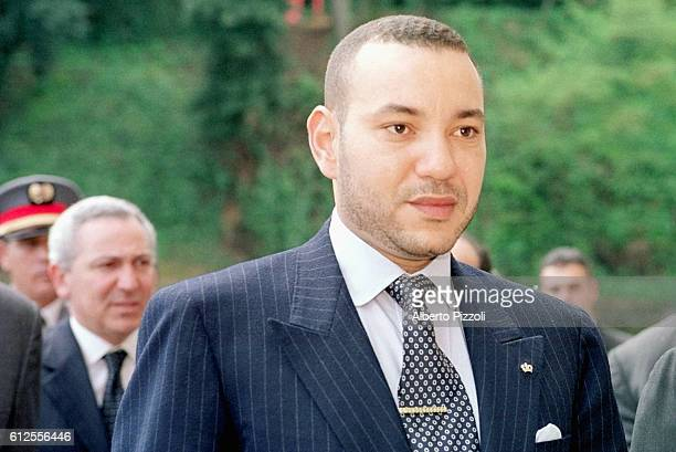 Mohammed VI during his official visit