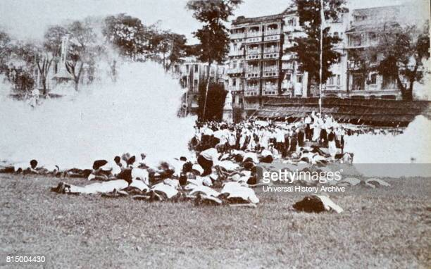 Mohandas Gandhi was driven to Gowalia Tank Maidan Mumbai where he called upon his countrymen to launch the Quit India Movement The police later used...