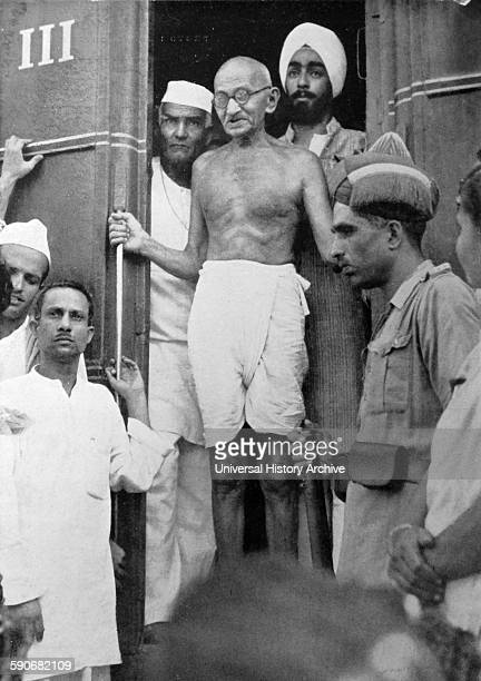 Mohandas Karamchand Gandhi the preeminent leader of the Indian independence movement in Britishruled India Employing nonviolent civil disobedience...