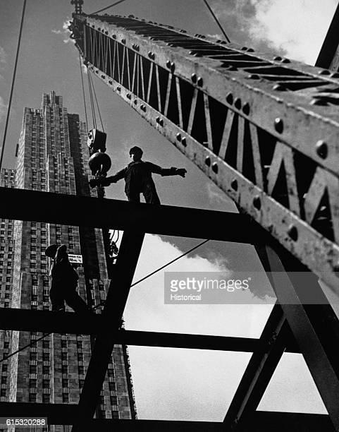 Mohawk Men Building a Skyscraper