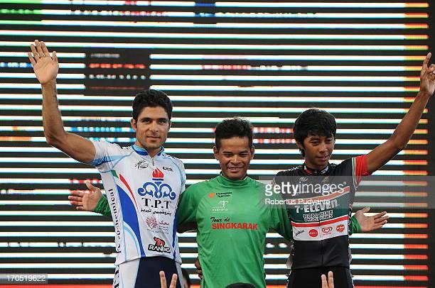 Mohd. Zamri Saleh successfully defending Tour de Singkarak 2013 green jersey until the last stage 7, follow by Jerry Aquino as runner up , and...