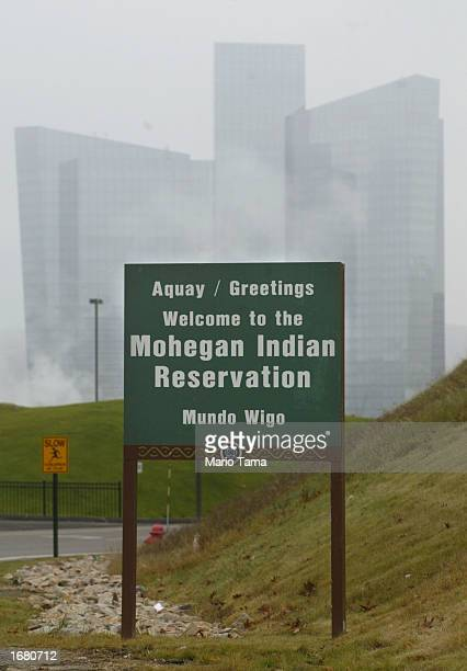 Mohegan Sun casino and hotel is seen November 21 2002 in Uncasville Connecticut The casino is owned and operated by the Mohegan Tribe which is a...