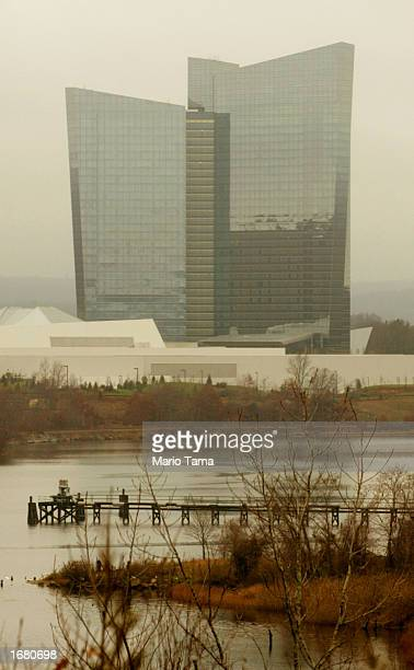 Mohegan Sun casino and hotel is shown November 21 2002 in Uncasville Connecticut The casino is owned and operated by the Mohegan Tribe which is a...