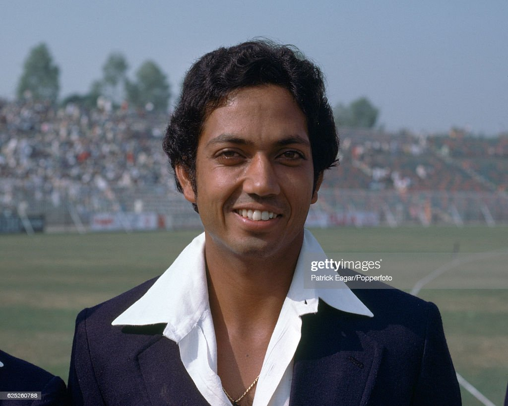 Mohinder Amarnath of India during the 2nd Test match between Pakistan and India at the Gaddafi Stadium Lahore Pakistan 27th October 1978
