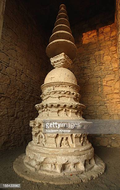 mohra mrado votive stupa - punjab pakistan stock photos and pictures
