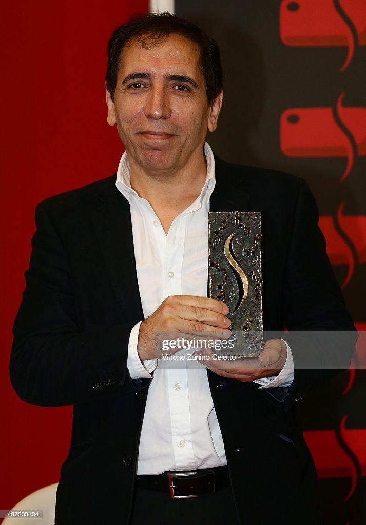 Director Mohsen Makhmalbaf Receives The Bresson Award  - 72nd Venice Film Festival
