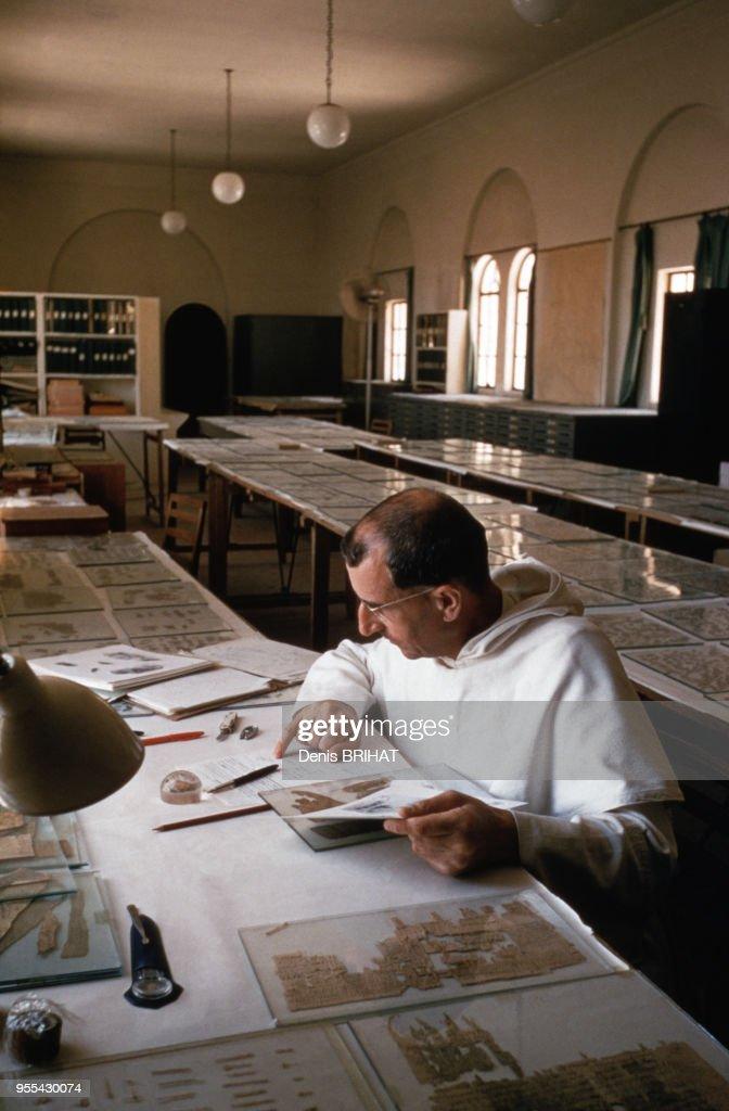 Manuscrits de la mer Morte Qumran : News Photo
