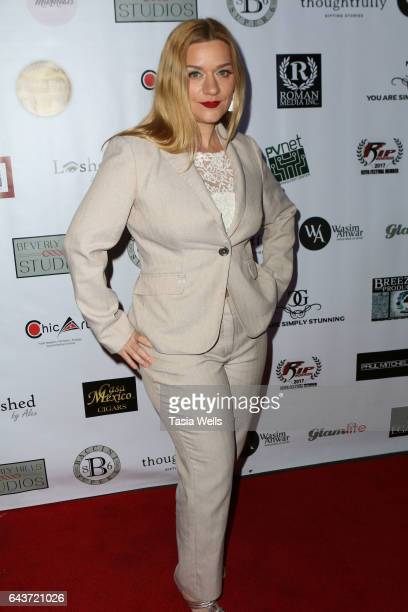 Moira Cue attends Celebrating Women in Film and Diversity in Entertainment at Boulevard3 on February 21, 2017 in Hollywood, California.