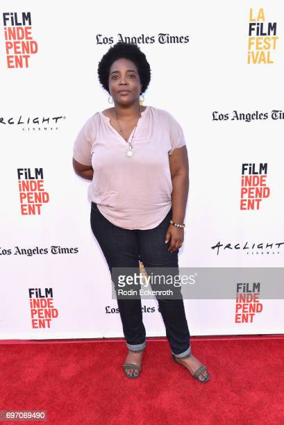Moira Griffin attends Shorts Program 1 during the 2017 Los Angeles Film Festival at Arclight Cinemas Culver City on June 17 2017 in Culver City...