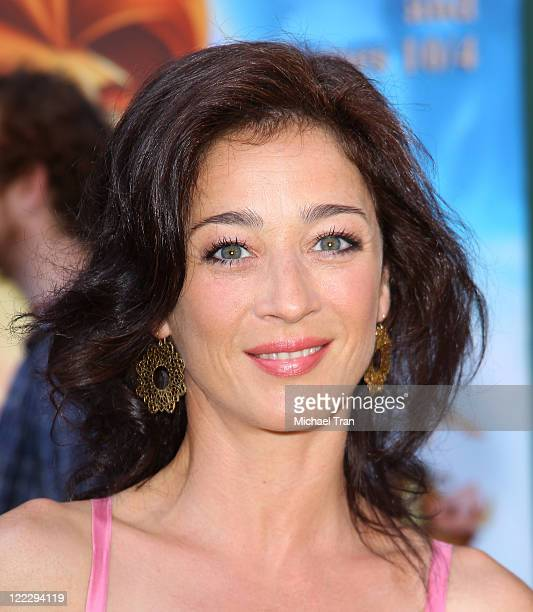 Moira Kelly arrives at Los Angeles premiere of The Lion King 3D held at the El Capitan Theatre on August 27 2011 in Hollywood California