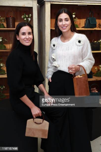 Moira Laporta and Alessandra de Osma attend 'Paracas by MoiSass' new bags presentation at Mimoki on November 12 2019 in Madrid Spain