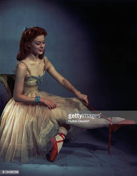 Moira Shearer in 'Red Shoes'