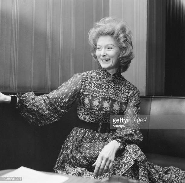 Moira Shearer in Teesside December 1972 picture shows Moira Shearer Lady Kennedy internationally renowned British ballet dancer and actress
