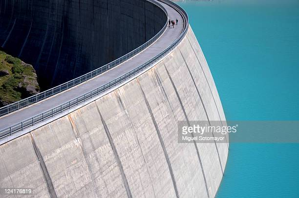 moiry dam - hydroelectric power stock pictures, royalty-free photos & images