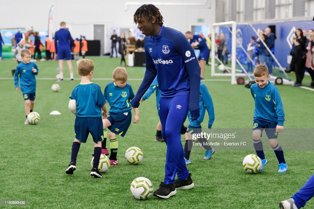 Moise Kean During The Junior Blues Christmas Party At Usm Finch Farm News Photo Getty Images