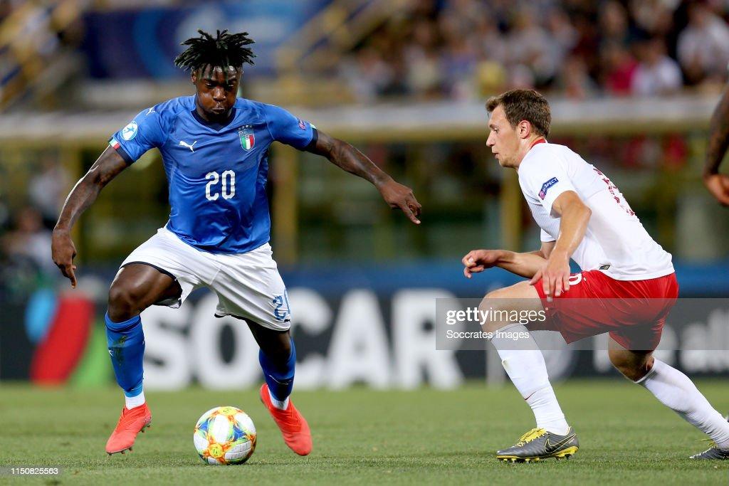 Italy  v Poland  -EURO U21 : News Photo